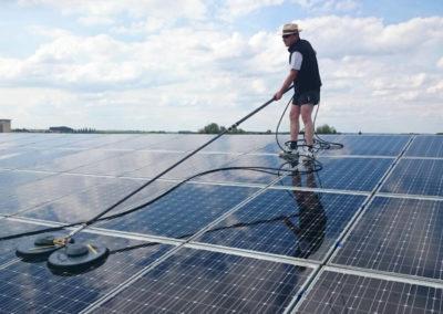 Reinigung Solaranlage