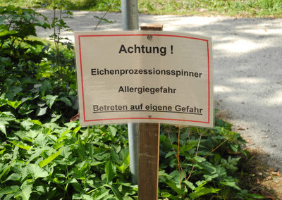 Warnschild EPS